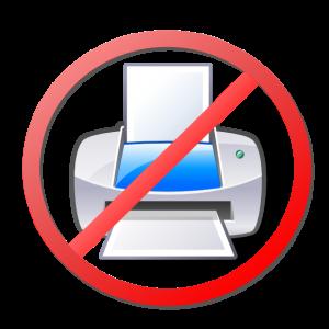imprimante n'imprime pas